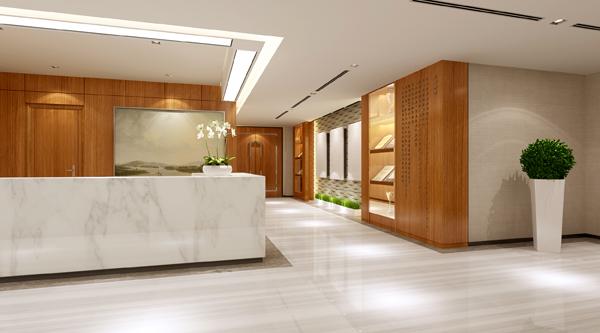 环球租赁办公室设计——筑邦臣