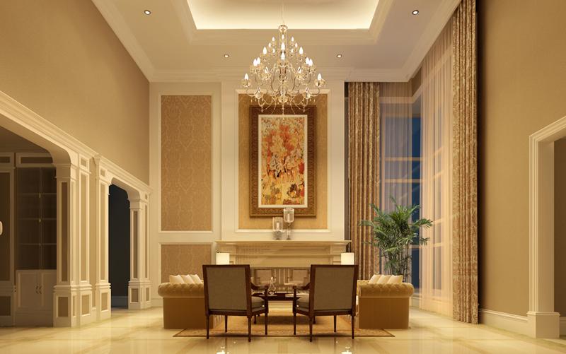 优山美地简欧风格别墅装修设计样板房美翻了 北京十大别墅装修公司排