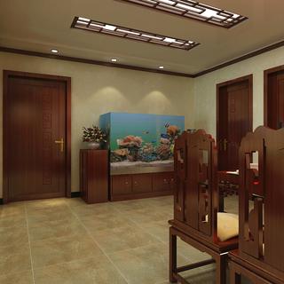 148平3房中式装修