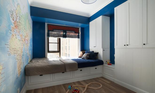 150平時尚混搭薄荷谷,清新色彩的公寓