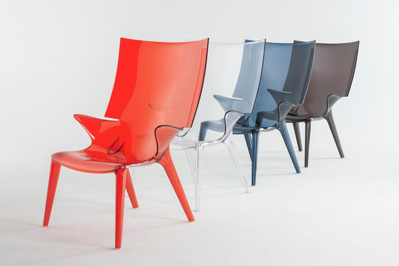 2014米兰设计周 鬼才菲利普·斯塔克为kartell设计的塑料椅