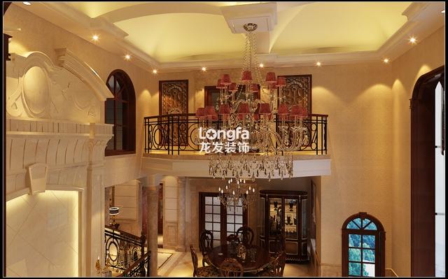 风情小镇欧式别墅装修-奢华别墅设计效果图-豪宅设计