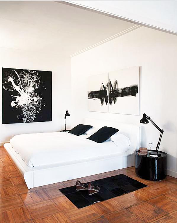黑白配 现代感十足的欧式简约家居