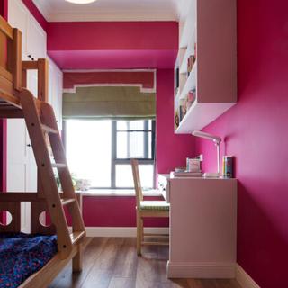 150平时尚混搭薄荷谷,清新色彩的公寓