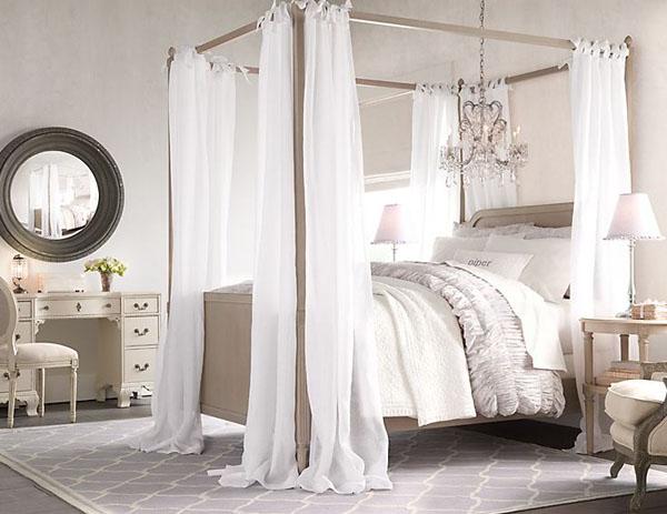 欧式古典儿童房,童话般的卧室