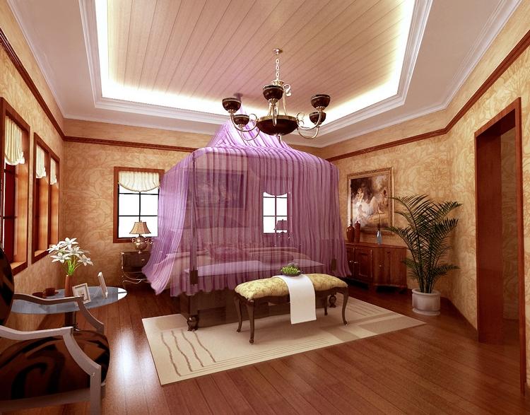 精装300平米欧式风格别墅装修设计效果图 北京前十大别墅设计公司