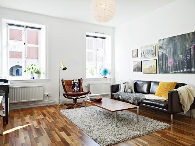 49平超紧凑两居室,艺术之家