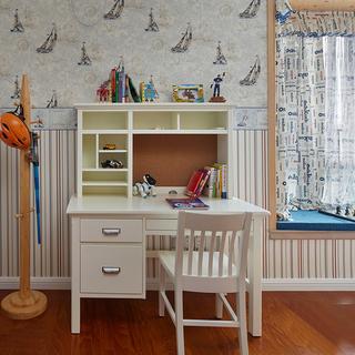 170平优雅美式四居室,冬至里的一抹阳光