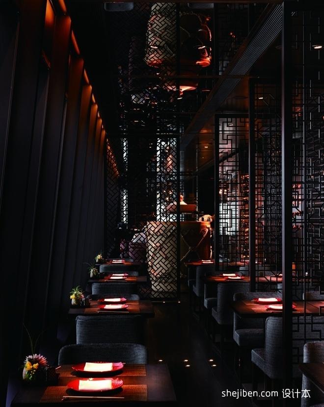 梁志天作品-香港田舍家餐厅设计