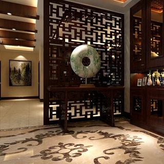 180平四房适合老年人的中式风格装修