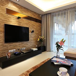 110平充满品味和气度的现代风格居室