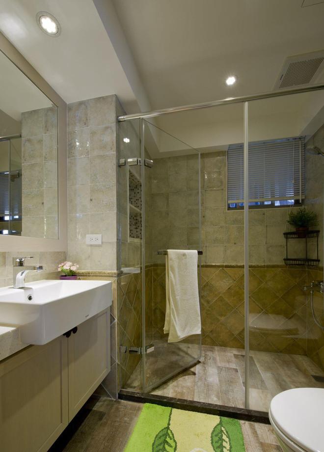120平混搭三居室老房改造装修案例