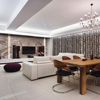 上海杨浦区135平时尚新古典主义优雅公寓