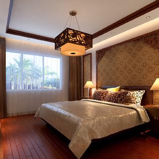 北京实创装饰南昌公司|实创整体家装|150平|中式风格装修设计