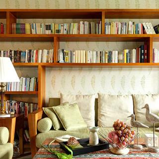 【昶卓设计】东南亚风格 129平米 实景作品 『书香绿苑』