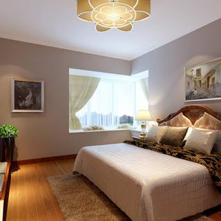 90平两居室美式风格