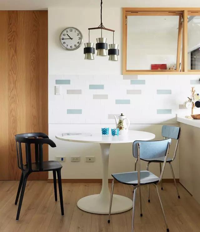50平现代简约风格单身公寓装修设计