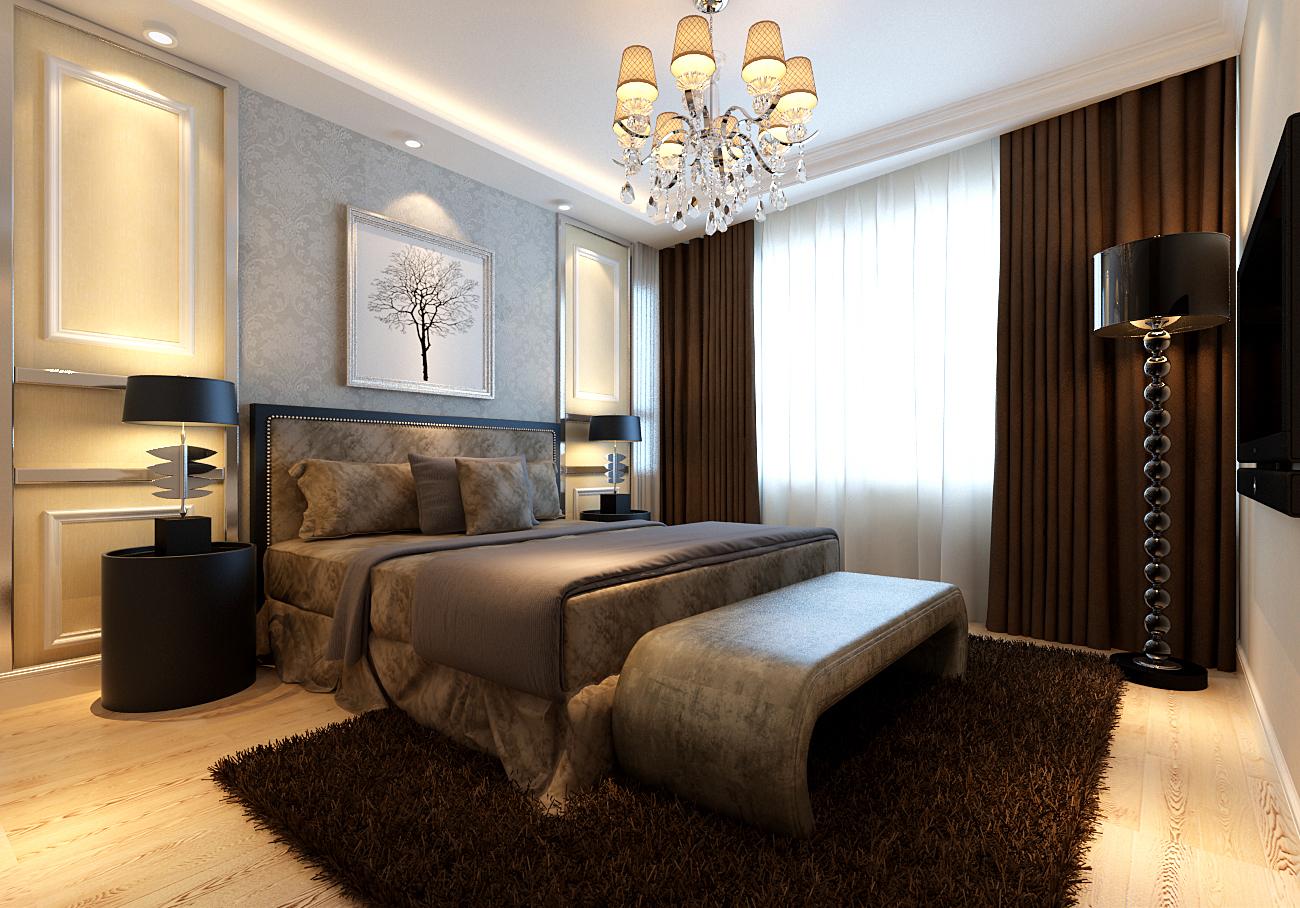 新城国际120平米简欧风格装修设计