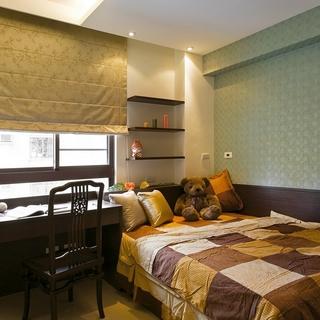 运用古董窗花 打造中式上海风三室两厅