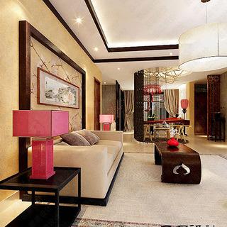【居易设计】《桃花源》中式风格怀旧古典 经典室内装修设计案例