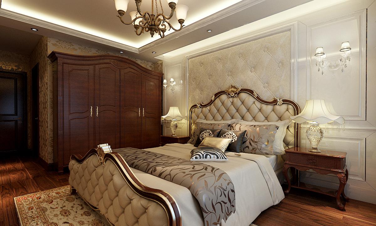 老板14万装修南郡香醍雅诺146平欧式风格loft奢华