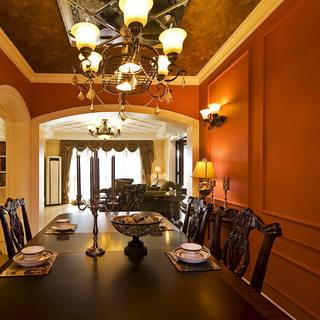 景江苑——136平美式三室二厅