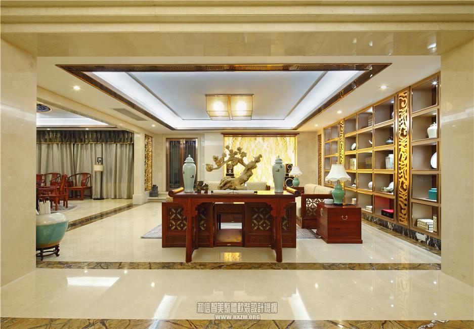 阳江 佰利庄园a型别墅样板房软装设计案例