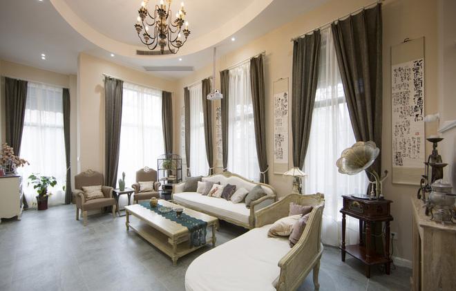 330平米美式风格别墅装修半包造价37万 龙发装饰 杭州十大别墅装修