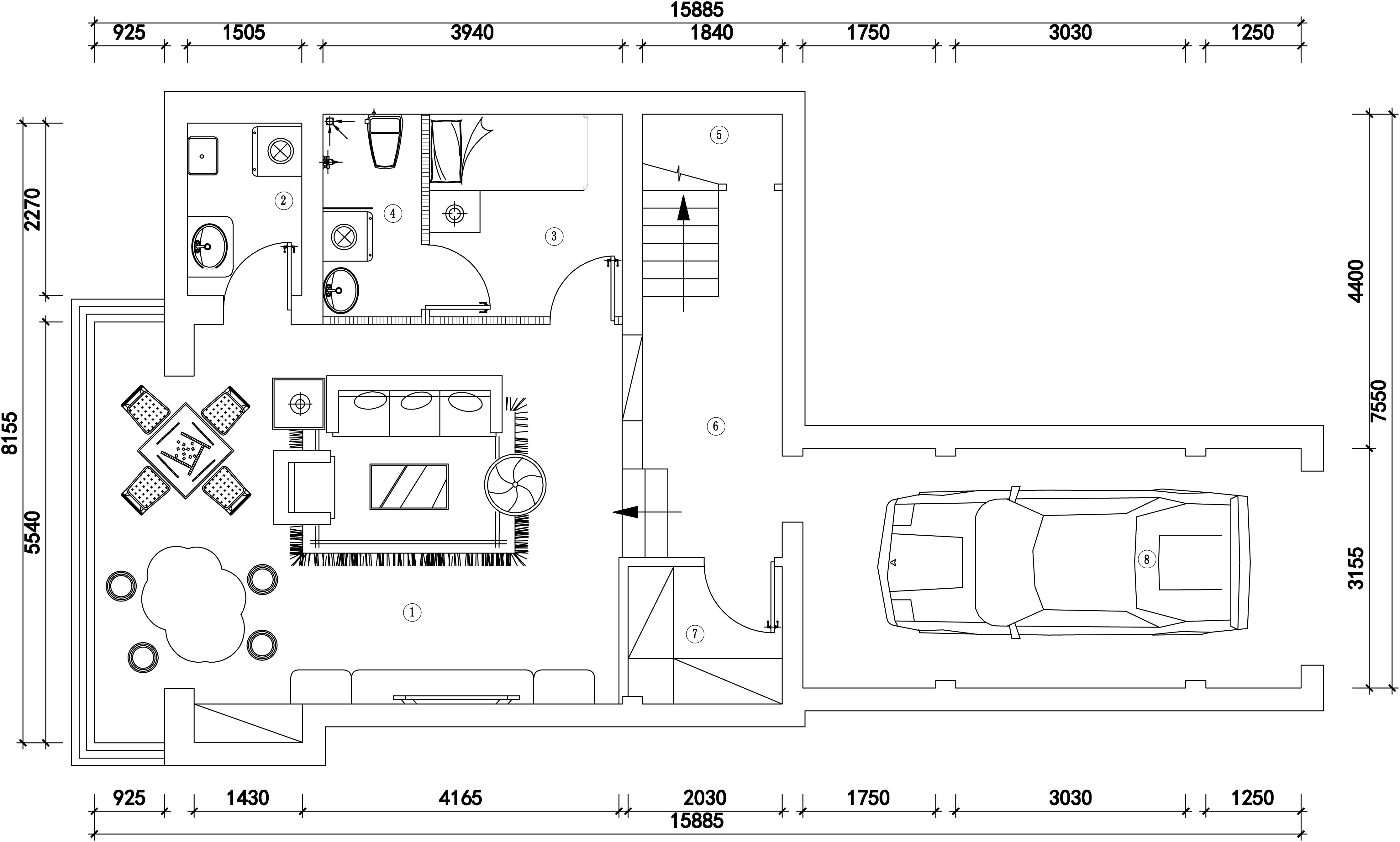 式别墅装修方案