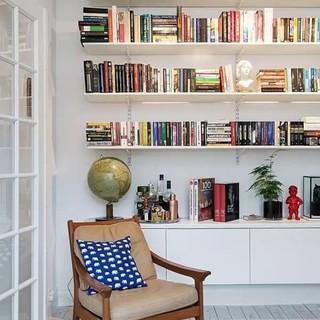 47平米的现代彩色瑞士小公寓
