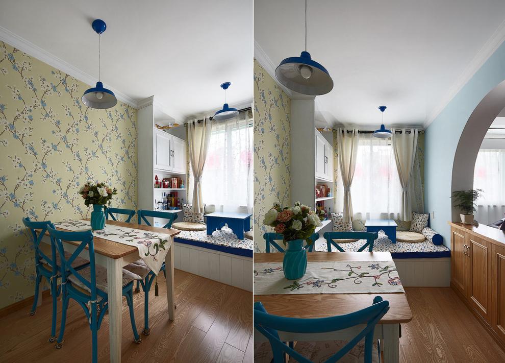 90平雅居轻松的地中海风格三居室