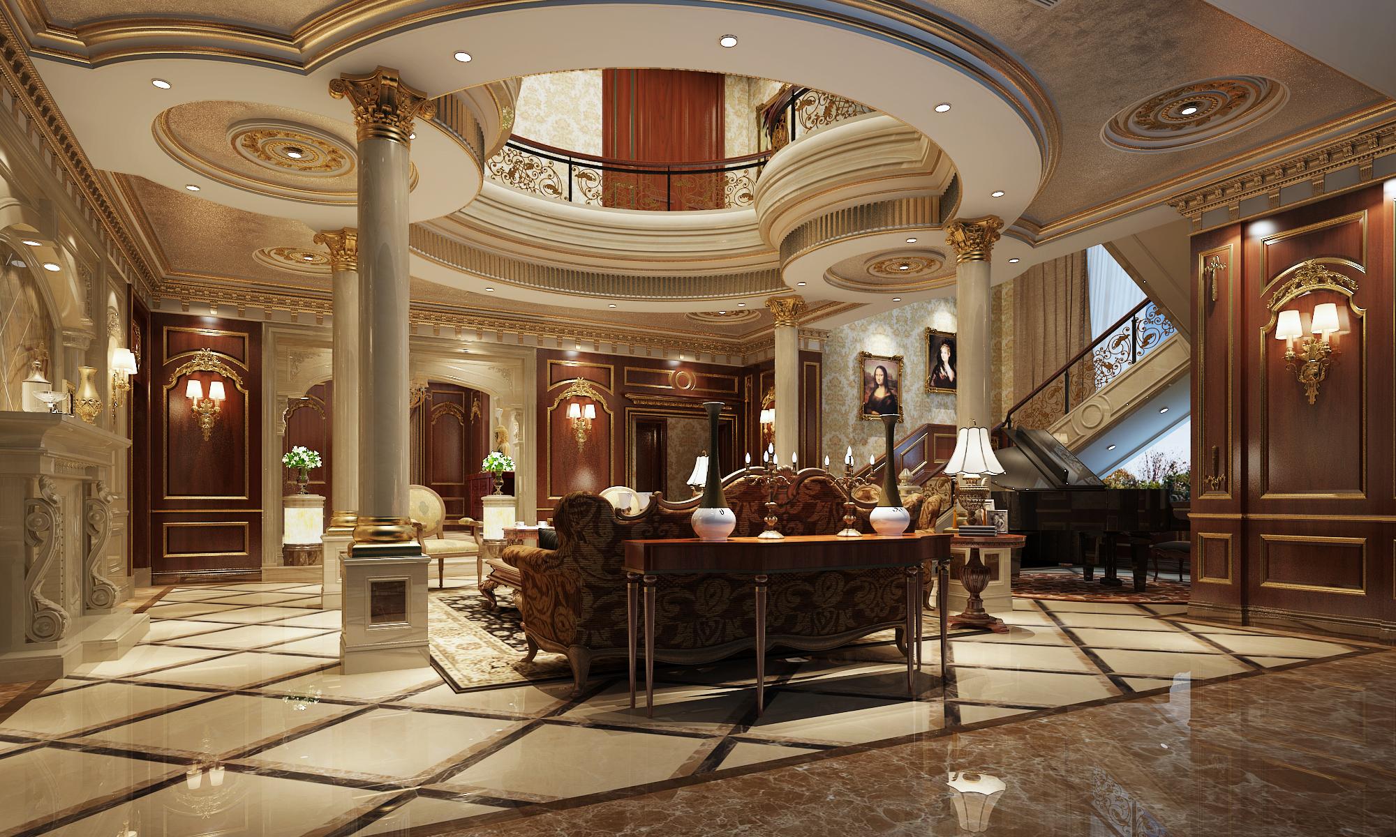 法式宫庭风格别墅图片