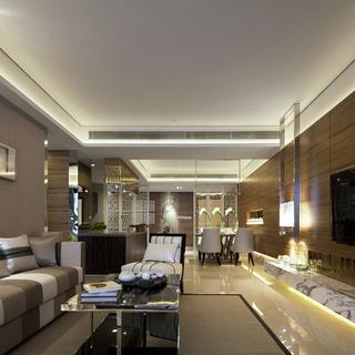 KSL经典中式风格样板房设计—中洲中央公园3-B02样板房