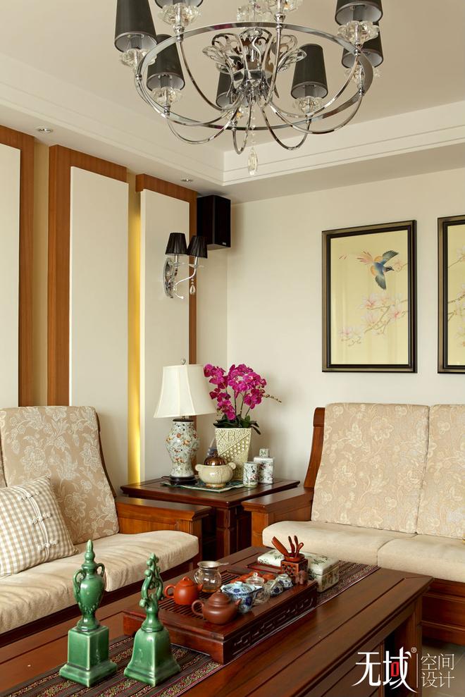 北京市昌平区名佳花园中式风格设计案例