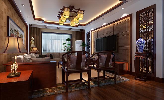 152平米中式古典