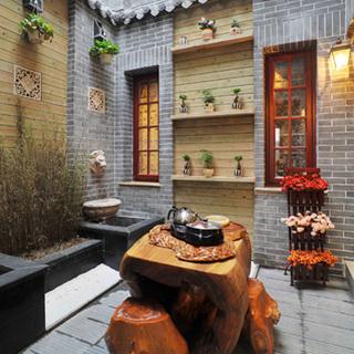 新旧中式混搭两居室