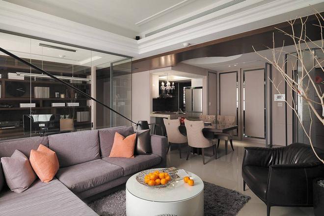 125平欧式三居室,现代与古典洋溢的时尚情怀