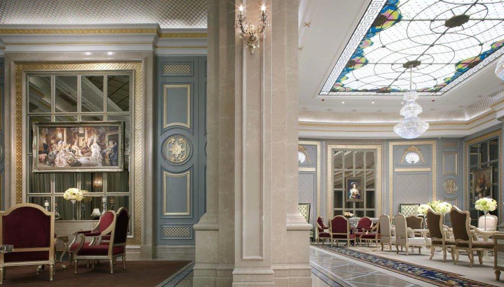 3000平米售楼中心装修设计|欧式别墅设计样板房|龙发