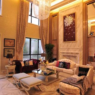 600平法式风格高端别墅装修设计