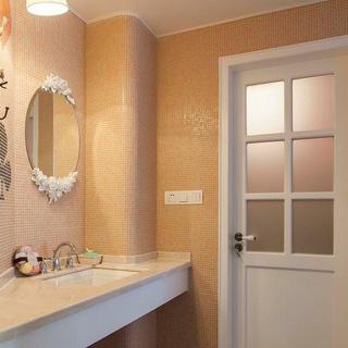 130平浪漫婚房 浅色调打造出的清新