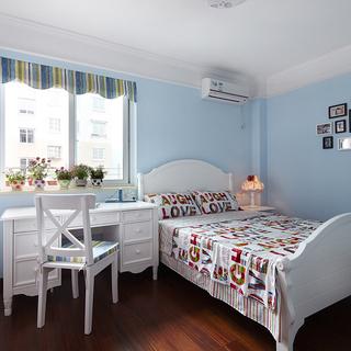 嘉绿西苑-120平米美式乡村三室两厅两卫一厨