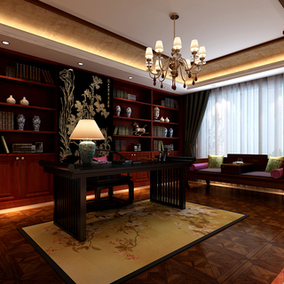 独栋别墅——中式风格