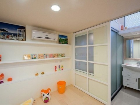 35平米小户型loft 暖色系装修