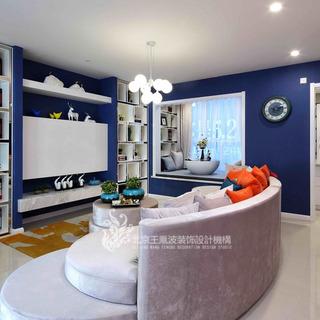 家是蓝色港湾 王凤波设计机构出品