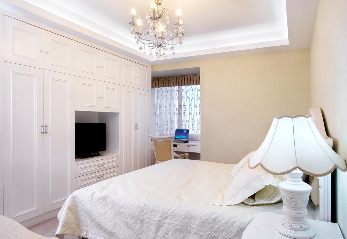 旧房改造  素洁且清新着的欧式温情