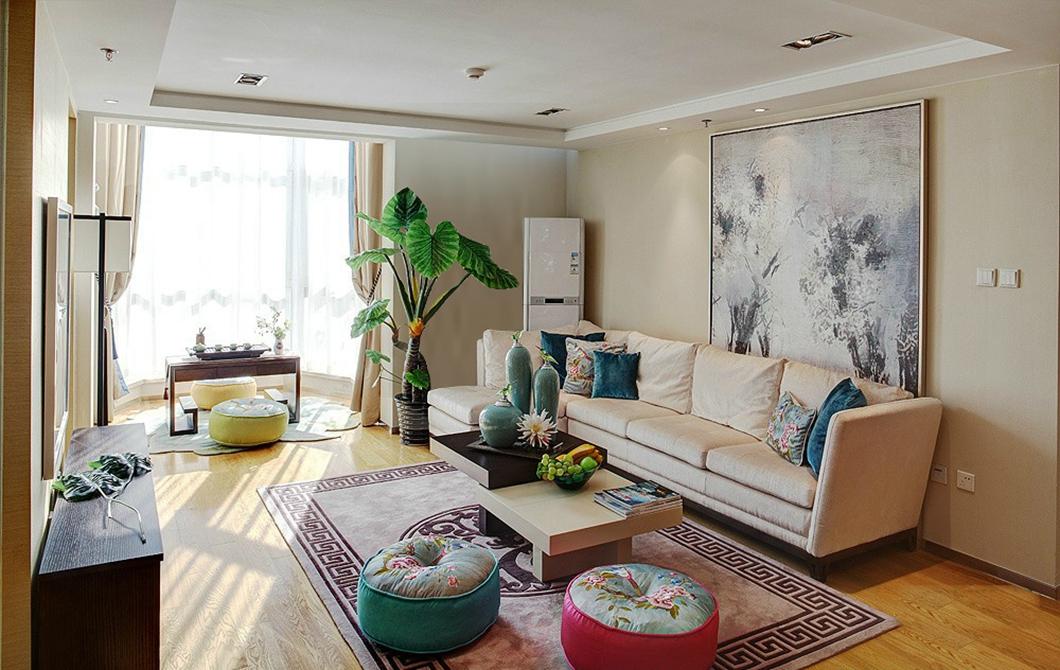 15简装142平现代家居 融入异域风情