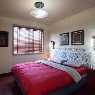 130平米怀旧中式风格三居室